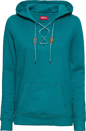 8c70e72adc191 John Baner Jeanswear Bonprix - Sweat-shirt à laçage et capuche, manches  longues bleu