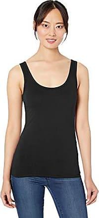 Extra Large Black Three Dots Womens CI0563 Luxe Rib Sleeveless Mock Tank