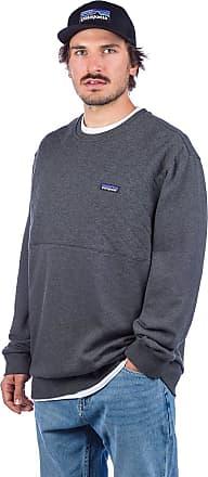 Patagonia Organic Quilt Crewneck Sweater forge grey