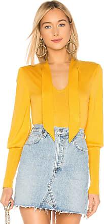 Bcbgmaxazria Mock Neck Pullover in Yellow