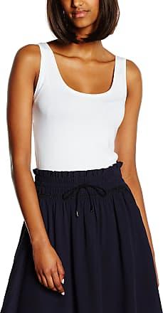 Vila Womens VIOFFICIEL NEW TANK TOP-NOOS Vest, White (Optical Snow), 40 ( M/L)