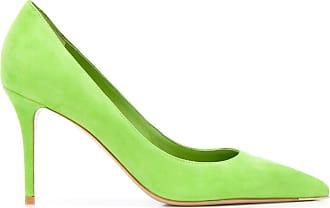 Le Silla Sapato Eva de camurça com salto de 90mm - Verde