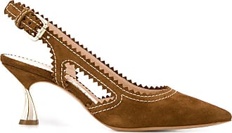 Casadei pointed toe slingback pumps - Brown