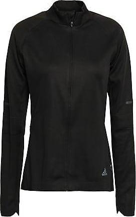 Adidas Track Jacket BlackGreyYellow Large