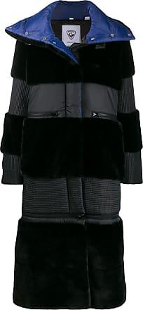 Rossignol x JCC JC de Castelbajac Wifi faux fur coat - Black