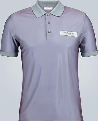Givenchy Irisierendes Kurzarmpoloshirt