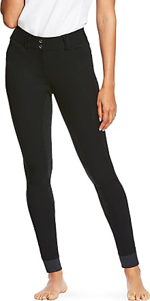 Ariat Womens Tri Factor Grip Full Seat Riding Breech in Black, Size 22 Long, by Ariat