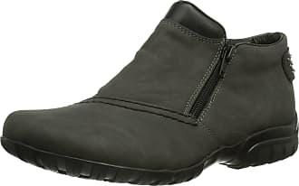 Rieker Womens L4662 Ankle Boots, Grey (Fumo/Schwarz/45), 3.5 UK