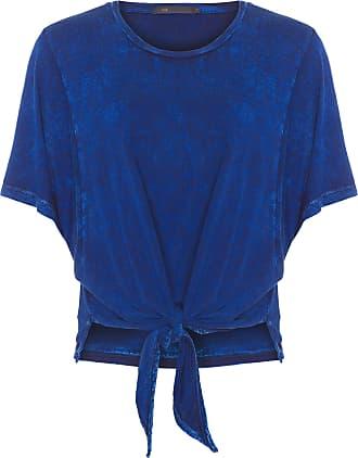 MOB Blusa Amarração - Azul