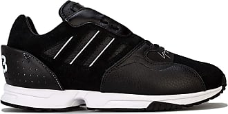 adidas Mens Y-3 Y-3 ZX Run Trainers in Black-White - UK 4.5