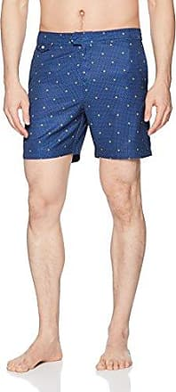 Original Penguin Mens Tropical Leaf Fixed Waist Swim Trunk
