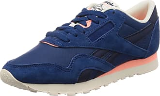Reebok Mens Cl Nylon M Fitness Shoes, Multicolour (Retro-Bunker Blue/Collegiate Navy/Chalk/ 000), 11 UK