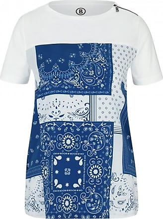 Bogner Florence T-shirt for Women - Azure blue/White