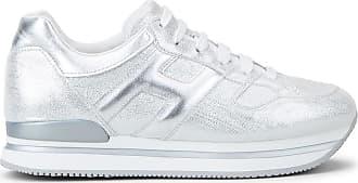Hogan Sneakers H222, ARGENTO, 34.5 - Scarpe