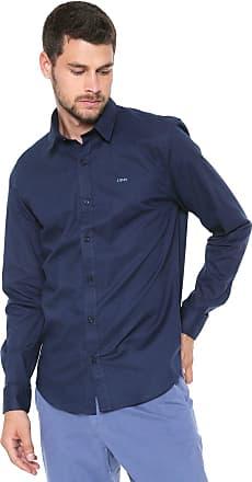 Dimy Camisa dimy Reta Logo Azul-marinho