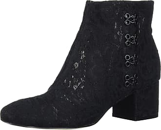 Katy Perry Womens The Glyn-MESH LACE Ankle Boot, Black, 4 UK