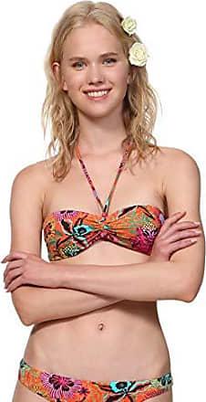Elegantes Bikini-Set 36-40 Cup B in Weiß und Schwarz Ital Bademode