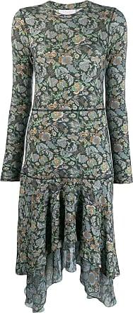 See By Chloé Vestido com estampa floral - Verde