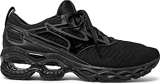 e54911ce845e Mizuno Wave Creation Rubber-trimmed Mesh Running Sneakers - Black