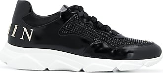 Philipp Plein Plein crystal-embellished sneakers - Black
