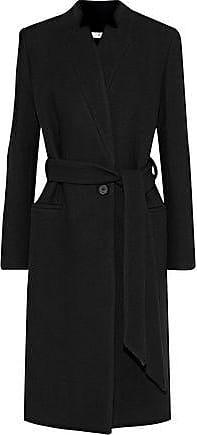 Iro Iro Woman Walkeris Wool-blend Twill Coat Black Size 42