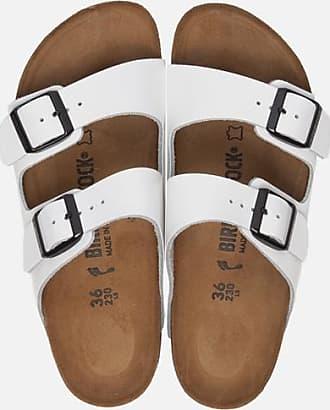 Birkenstock Arizona slippers wit