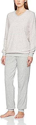 Seidensticker Damen Zweiteiliger Schlafanzug Anzug Lang