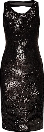 Diane Von Fürstenberg Slip Dress Womens Black