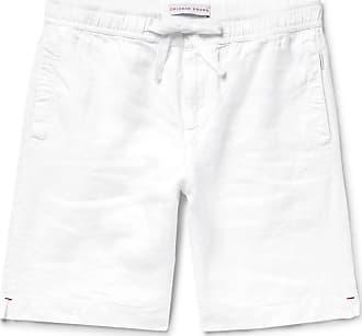 Orlebar Brown Harton Linen Drawstring Shorts - White
