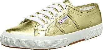 Superga 2750 Cotmetu, Unisex Adults Low-Top Sneakers, Gold (174), 6 UK (39.5 EU)