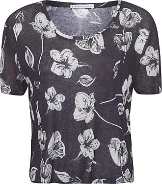 FYI T-shirt Basic Floral - Preto