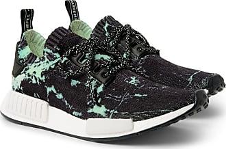 adidas Originals Nmd r1 Marble-print Primeknit Sneakers - Black 826312393a