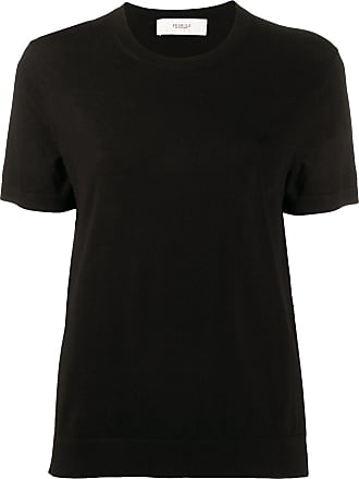 Pringle Of Scotland Camiseta decote careca - Preto