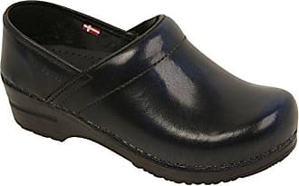 2c9e2f531352 Womens Professional Kaylani Koi Patent Leather Clog. Delivery: free. Sanita  Cabrio Blue in Brush-Off Leather