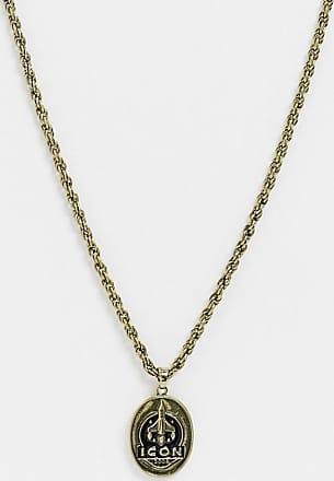 Icon Brand Catenina oro con ciondolo a forma di razzo