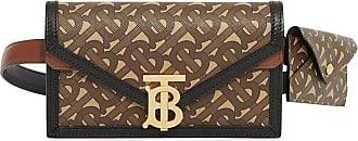 Burberry Clutch monogramada TB - Marrom