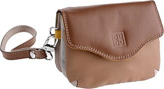 DuDu Mini borsettina donna in pelle a mano con laccetto polso di DUDU Safari