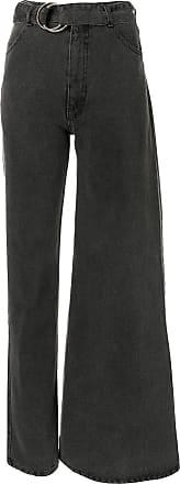 Ksenia Schnaider Calça jeans assimétrica - Cinza