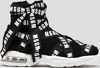 Msgm sneakers with logo ribbon
