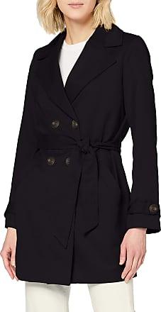 Vero Moda Womens Vmberta 3/4 Jacket Col Trenchcoat, Black, M