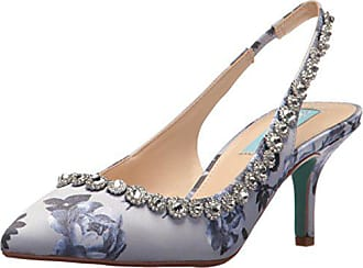 46dc46f8526 Blue by Betsey Johnson Womens SB-Cici Pump Blue Multi 8.5 M US