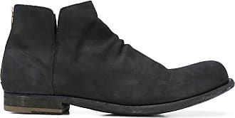 Officine Creative rear-zip ankle boots - Black