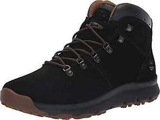 Timberland Mens World Hiker Mid Ankle Boot, Black Suede, 9 Medium US