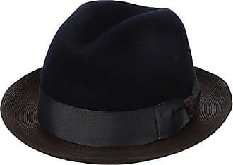 Carlos By Carlos Santana Carlos Santana Mens Wool Pinch Hat with Leather 7d1f04142bdf