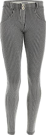 Freddy Made-in-Italy Striped shaping WR.UP denim-effect jeggings