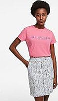 Karl Lagerfeld Floral Logo T-Shirt
