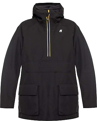 K-Way Jeffry Hooded Jacket Mens Black
