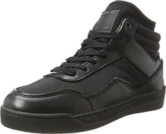 Replay Hutre, Baskets Hautes Homme, Noir (Black), 44 EU 3b0e29227ff8