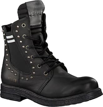 bd280440b53653 Replay Schwarze Replay Biker Boots RL260059L SKIN