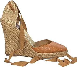 93014f292dc2 Christian Louboutin Tan Christian Louboutin Leather   Woven Espadrille  Sandals
